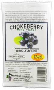 WINE YEAST CHOKEBERRY - Drożdże winiarskie do wina z aronii