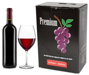 WINE-KITS PREMIUM SHIRAZ 5300 ML