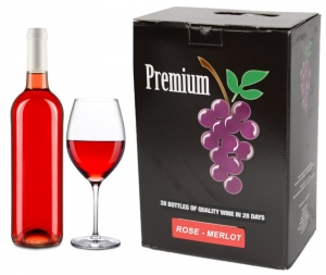 WINE-KITS PREMIUM ROSE MERLOT 5300 ML