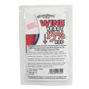 STRONGFERM WINE YEAST RED 13%