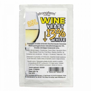 STRONGFERM WINE YEAST WHITE 13%