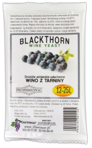 WINE YEAST BLACKTHORN - Drożdże winiarskie do wina z tarniny