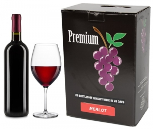 WINE-KITS PREMIUM MERLOT 5300 ML