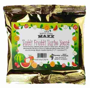 MAXX TUTTI FRUTTI TURBO FRUIT YEAST / 10SZT