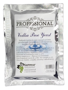 PROFESSIONAL VODKA PURE YEAST